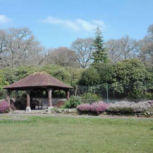 Wickenden little garden outside